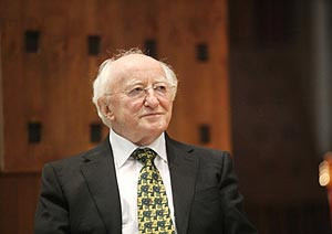 st patrick s day 2012 message from president michael d higgins