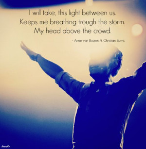 Armin van buuren ft Cristian Burns ~ This light between us
