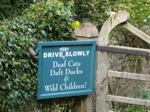 Funny Garden Sign Gardening