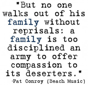 Pat Conroy quote from Beach Music
