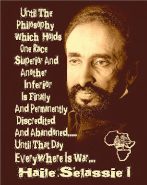 ... today – the King of Kings Emperor Haile Selassie I, 121st Birthday