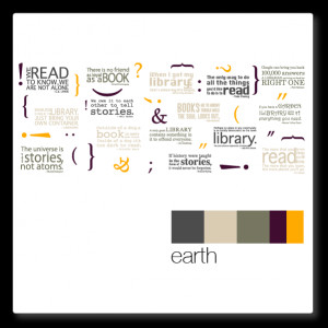 library quotes - library wall decal