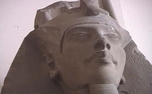 Yes Knut this is a depiction of Akhenaten from 1350 BC, Egyptian Art ...