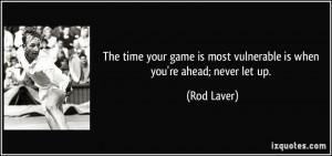 More Rod Laver Quotes