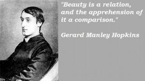 Gerard manley hopkins famous quotes 1