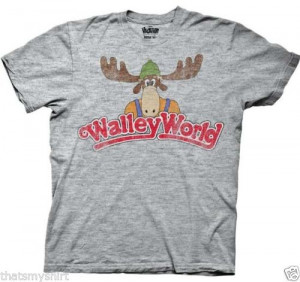 New Authentic Mens National Lampoon's Vacation Walley World Tee Shirt