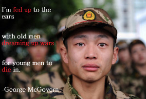george mcgovern rip anti war before it was welcome a warrior himself a ...