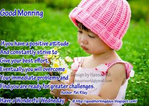 Good Morning Wednesday.. 8 Inspiring Beautiful Quotes..
