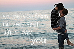 when I first met you..