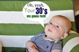 It's my 30th birthday! {and Ra broke in my blog}