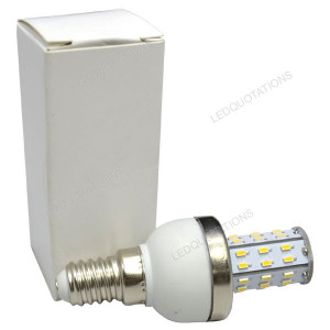 Energy Saving Dimmable E14 3W 48 3014 SMD LED Corn Light Bulb Lamp ...