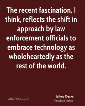 Jeffery Deaver Technology Quotes