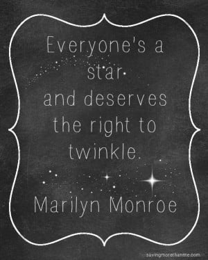 ... Monroe Quotes: Use My Free Printables To Make Wall Art #quotes #crafts