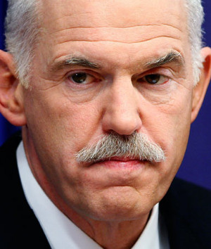 Papandreou critique sur l'absence d'accord européen