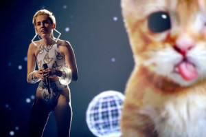 Miley Cyrus Goes After Katy