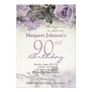 File Name : vintage_sterling_silver_purple_rose_90th_birthday ...