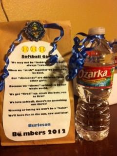 Softball, Sports Party, Goodies Bags, Girls Poem, Bags Close, Softball ...