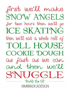 Elf Quote Digital Print...