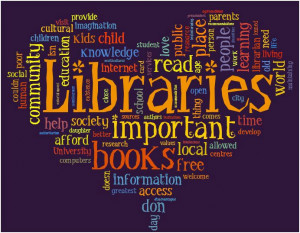 Thanks, Phil Bradley , for the library word art!)