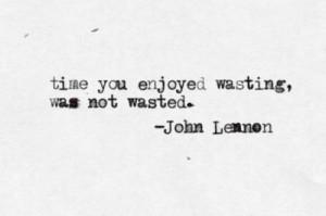 ... time quotes waste typewriter typewritten advice the virtual typewriter