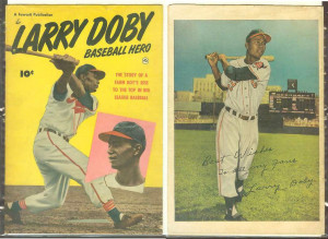 1950 Larry Doby 'Baseball Hero' Comic Book (Indians) Baseball cards ...
