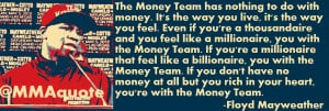 the money team has nothing to do with money it s the way you live it s ...