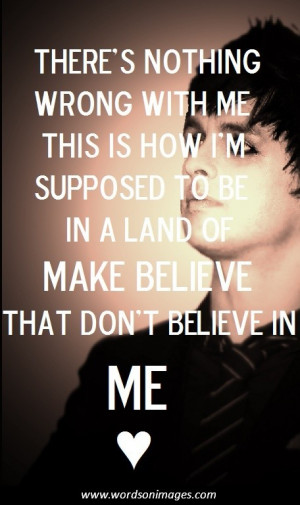 Green day quotes