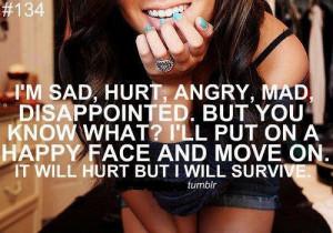 Sad Angry Mad