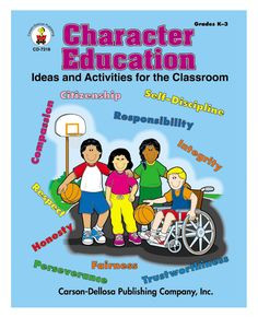 character education resource book covers: citizenship, compassion ...