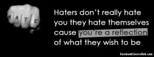 and sayings about haters facebook quotes and sayings about haters