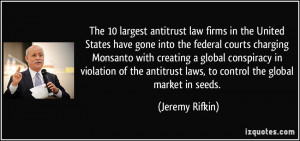 The 10 largest antitrust law firms in the United States have gone into ...