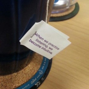 Tea time quote. #inspiration