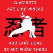 Clarinet Clarient Ninja Silence