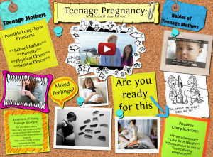 Teen Pregnancy Poster Teenage pregnancy 2