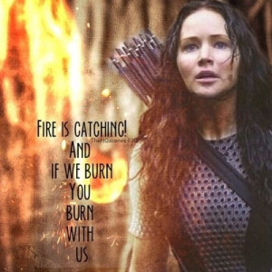 Hunger Games Quote / Mockingjay / Katniss / Catching Fire