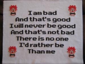 Wreck-It Ralph Bad Guy Affirmation