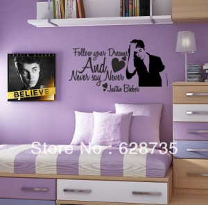 ... girls room wall decals,Girl's Inspirational quote Vinyl Sayings Wall