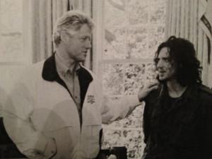 ... Eddie Vedder the day after news of Kurt Cobain's suicide broke, 1994