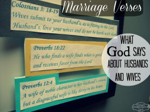 marriage verses Marriage Bible Quotes