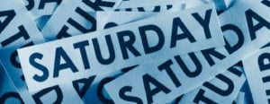 Saturday Status Updates for Facebook, Twitter