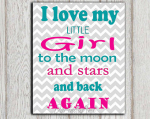 Love My Baby Girl Quotes Gift i love my little girl