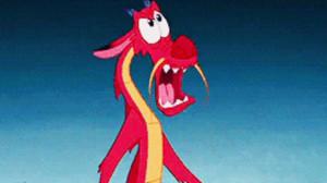 mulan dragon battle movie quote mushu cricket daisies disney quote