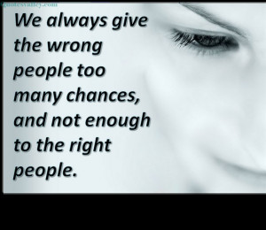 Wrong People Quotes