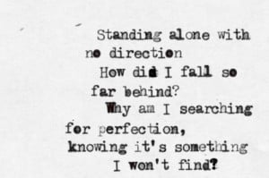 quote-a-lyric:Linkin Park - No Roads LeftSubmitted by ...
