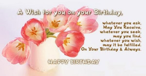 25+ Mind Blowing Birthday Quotes