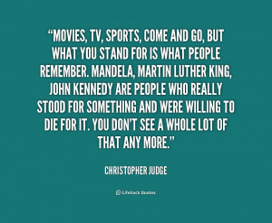 Quotes by Christopher Judge