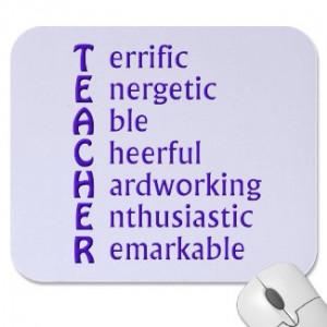 Teacher Appreciation Sayings Quotes