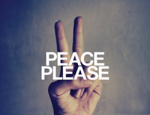cool, hand, peace, please, quote