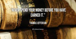 thomas jefferson bank quote
