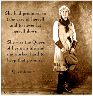 Promise to Yourself | Queenisms